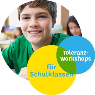 Toleranzworkshops für Schulklassen