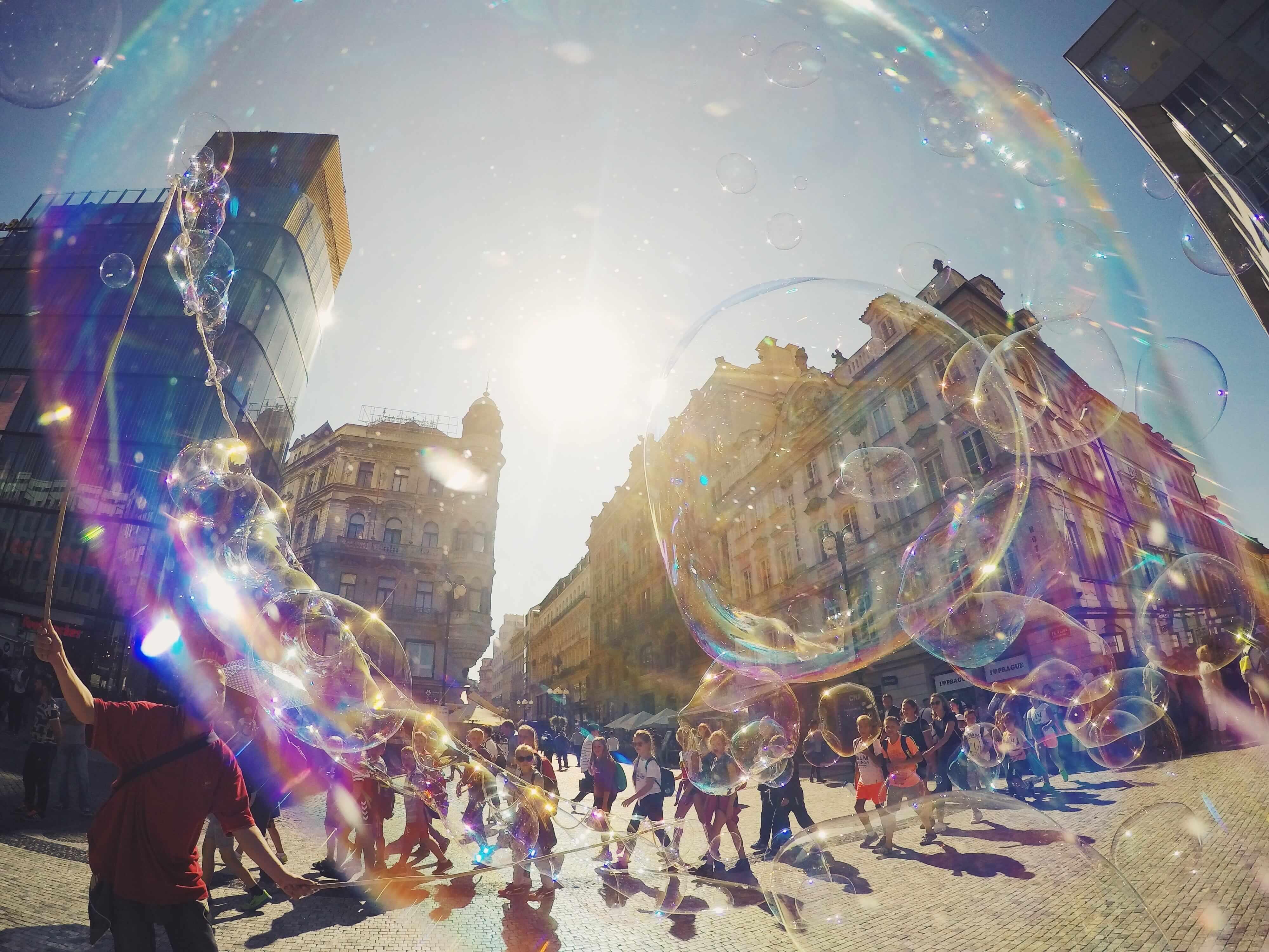 Seifenblasenperspektive