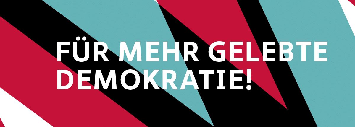 """""""Für mehr gelebte Demokratie"""" - MITWIRKEN, das Förderprogramm der Hertie-Stirftung"""