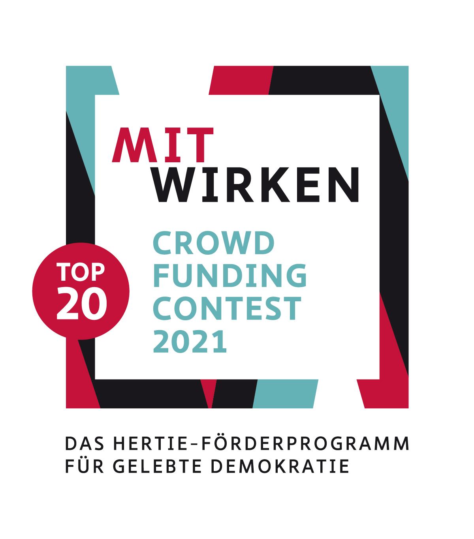 Top 20 Preisträgerprojekt Mitwirken Crowdfunding Contest